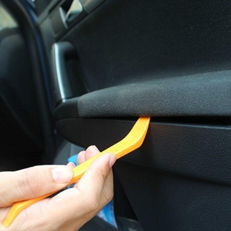 Įrankiai automobilių apdailos ardymui