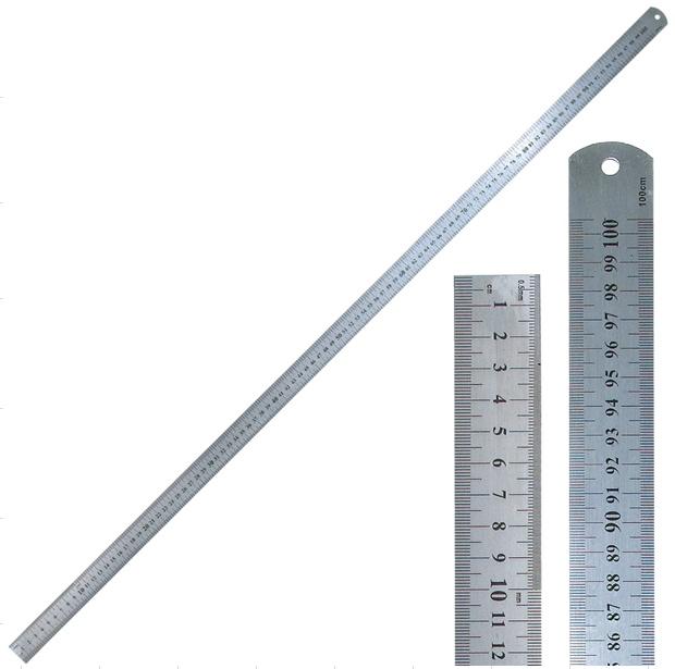 Liniuotė metalinė 1m (100cm) nuoma