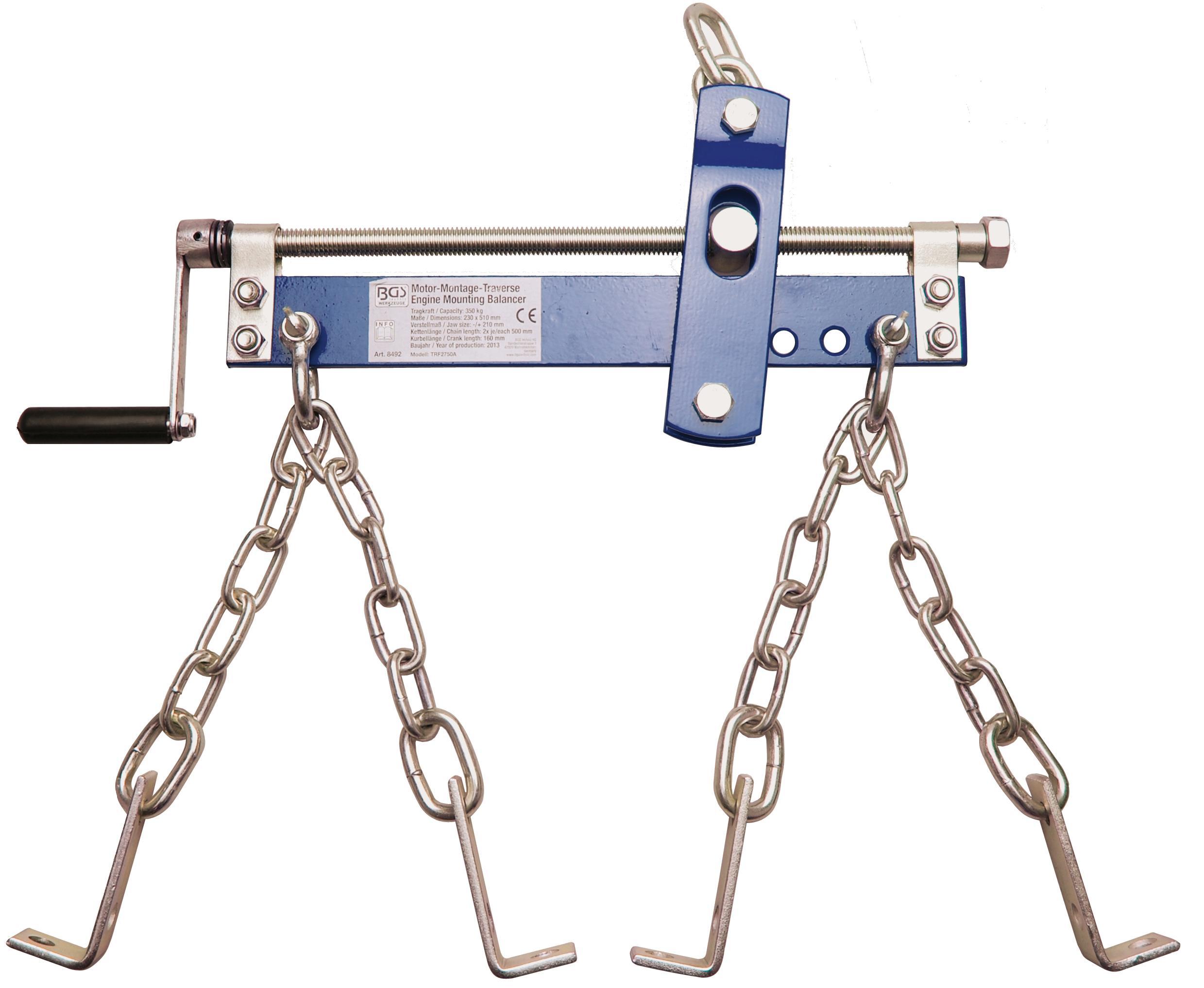 Variklio pastatymo įrankis, balansyras nuoma