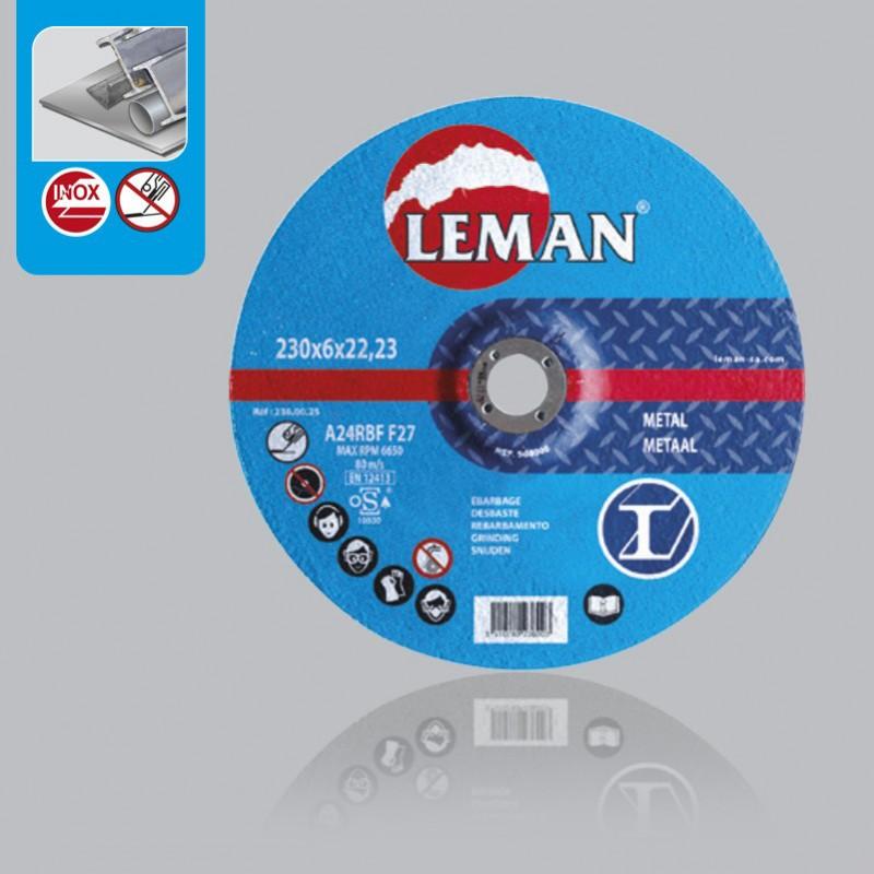 Metalo pjovimas diskas Leman 125x 1mm