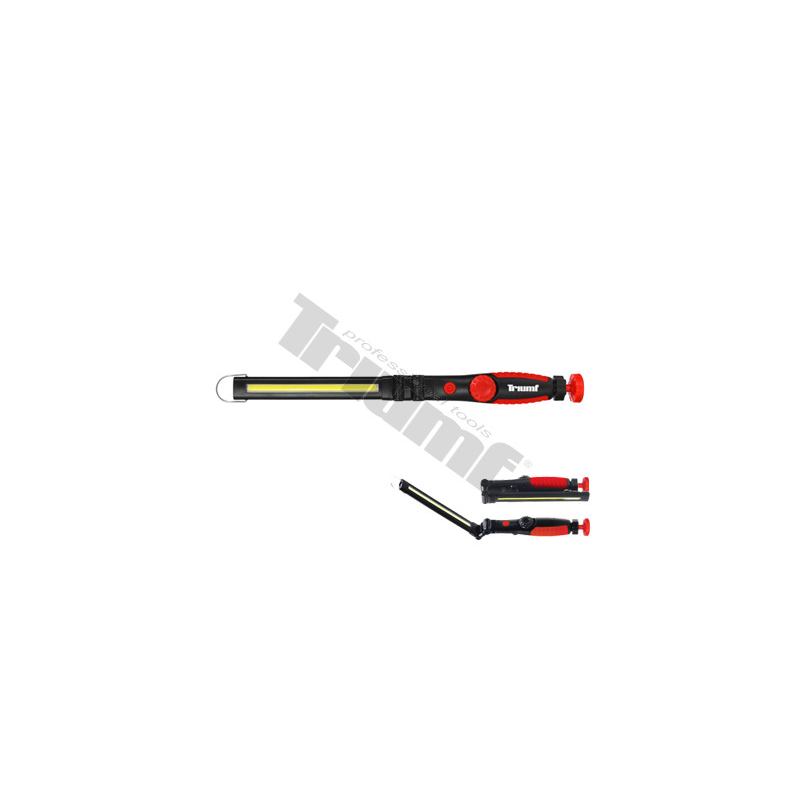 LED įkraunama darbo lempa plona, lankstoma / 450lm + 60lm nuoma